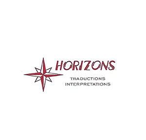 LOGO HORIZONS TRADUCTION ET INTERPRETATION